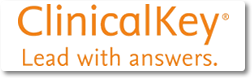 Clinical Key ClinicalKey is an online resource designed to provide answers to clinical questions